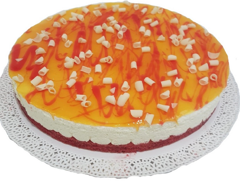 Torta cocco red passion